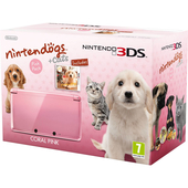 3DS Rosa Corallo+Nintendogs+Cats:Golden Retriever product photo