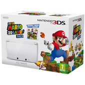 3DS HW Bianco Ghiaccio + Super Mario 3D Land product photo