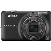 COOLPIX S6500 BLACK product photo