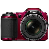 COOLPIX L820 RED product photo