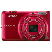 COOLPIX S6500 RED product photo