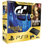 Ps3 500gb +Gran Turismo 6+The Last of Us product photo