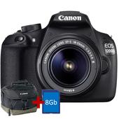 CANON EOS 1200D+18-55 DC III + BORSA 100EG + 8GB