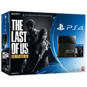 Ps4 500gb + The Last of Us Remastered product photo