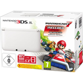 3DS XL Bianca + Mario Kart 7 product photo