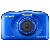 NIKON COOLPIX S33 + Backpack kit Blue