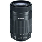 CANON EF-S 55-250mm f/4-5.6 IS STM + ET-63 + Lens Cloth