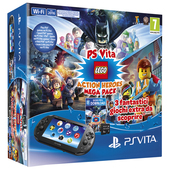 SONY ENTERTAINMENT PS Vita 2016 + Mega Pack Lego Action Heroes + MC8G