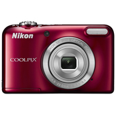 NIKON COOLPIX L31 + Custodia - Red