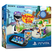 SONY ENTERTAINMENT PS Vita 2016 + Phineas & Ferb