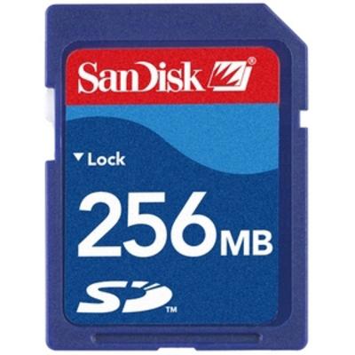SANDISK SD 256 MB  Default image