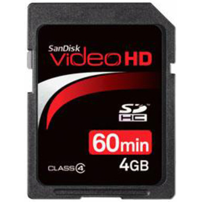 SANDISK Secure Digital Video HD Ultra II 4GB  Default image