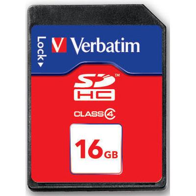 VERBATIM SDHC 16GB, Class 4  Default image