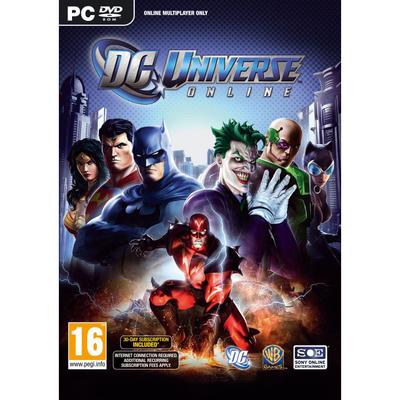 SONY ENTERTAINMENT DC Universe online  Default image
