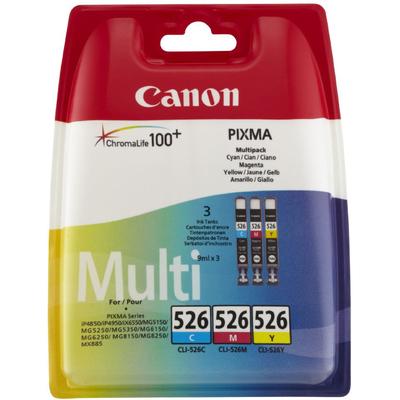 CANON CLI-526 C/M/Y  Default image