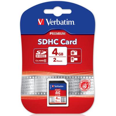 VERBATIM SDHC 4GB (Class 10) - 43960  Default image