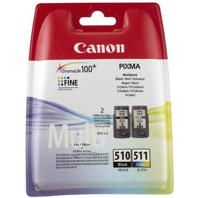 CANON PG-510 BK / CL-511 C/M/Y  Default image