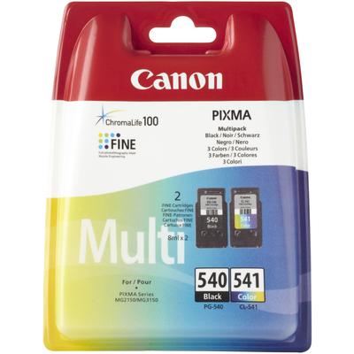 CANON PG-540 BK / CL-541 C/M/Y  Default image