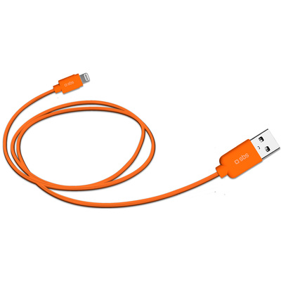 SBS ACCESSORI TELEFONICI Cavo dati USB 2.0 Lightning  Default image