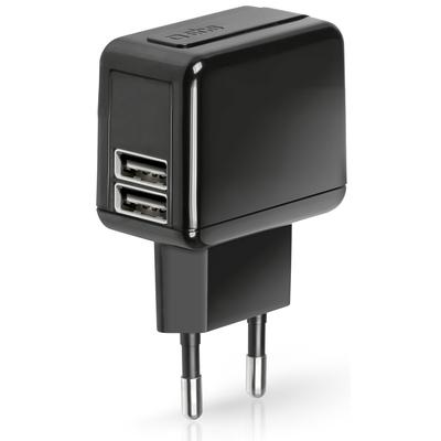 SBS ACCESSORI TELEFONICI Caricabatteria da viaggio doppia porta USB 2.0  Default image