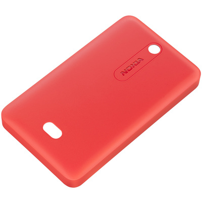 CELLY Soft cover rossa per Asha 501 - CC-3070RD  Default image