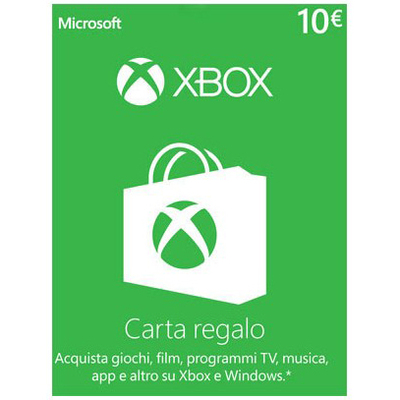MICROSOFT XBOX LIVE CARD 10 EURO DIGITAL DELIVERY  Default image