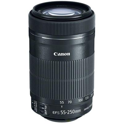 CANON EF-S 55-250mm f/4-5.6 IS STM + ET-63 + Lens Cloth  Default image