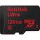 SANDISK Ultra microSD UHS-I 128 GB  Default thumbnail