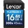 LEXAR 16GB Platinum II 300x SDHC UHS-I  Default thumbnail