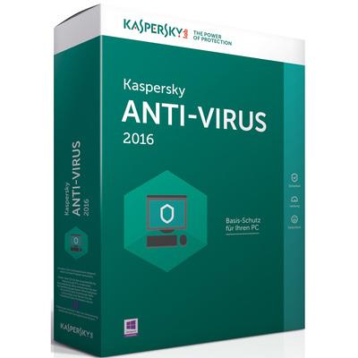KASPERSKY Anti-Virus 2016 1 User  Default image