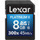 LEXAR 8GB Platinum II SDHC UHS-I  Default thumbnail