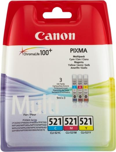 CANON CLI-521 C/M/Y  Default image