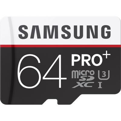 SAMSUNG Scheda MicroSD PRO Plus 64GB + Adattatore SD  Default image
