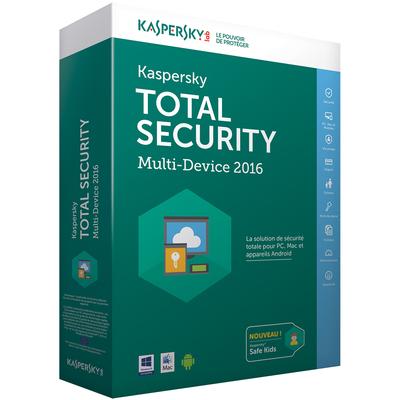 KASPERSKY Total Security  Multi-Device 2016 - 1 User  Default image