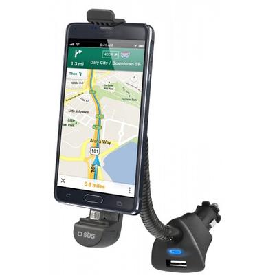 SBS ACCESSORI TELEFONICI Supporto da auto con connettore Micro USB  Default image