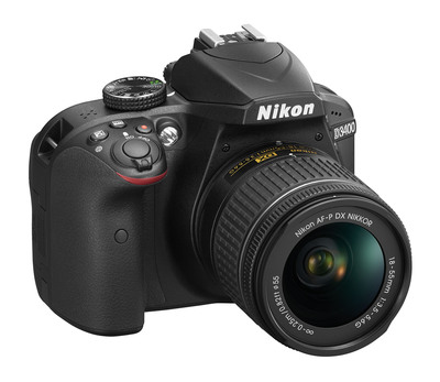 NIKON D3400 + AF-P 18-55 VR  Default image