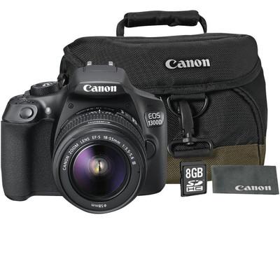 CANON EOS 1300D + EF-S 18-55 DC+100EG+8GB+LC  Default image
