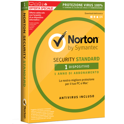 SYMANTEC Norton Security Standard - Offerta Speciale  Default image