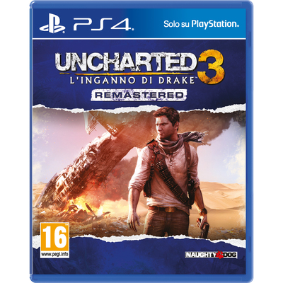 SONY ENTERTAINMENT Uncharted 3: Linganno Di Drake Remastered  Default image