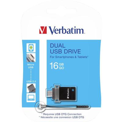 VERBATIM Unità USB doppia OTG/USB 2.0 16GB  Default image