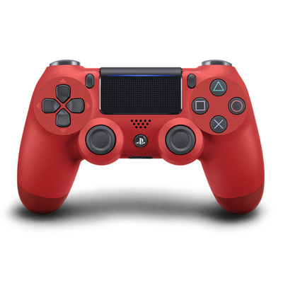 SONY ENTERTAINMENT Dualshock 4 Controller Wireless Magma red V2  Default image