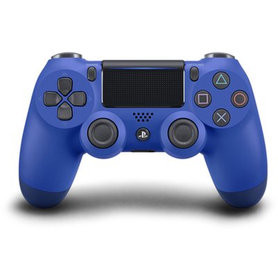 SONY ENTERTAINMENT Dualshock 4 Controller Wireless Wave Blue V2  Default image