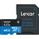 LEXAR High-Performance 633x microSDHC/microSDXC UHS-I 64  Default thumbnail