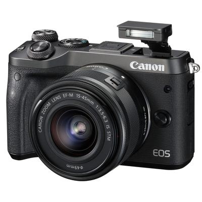 CANON EOS M6 Black + EF-M 15-45  Default image