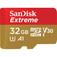 "SANDISK Extreme microSD UHS-I per Fotocamere ""Da azione""  Default thumbnail"