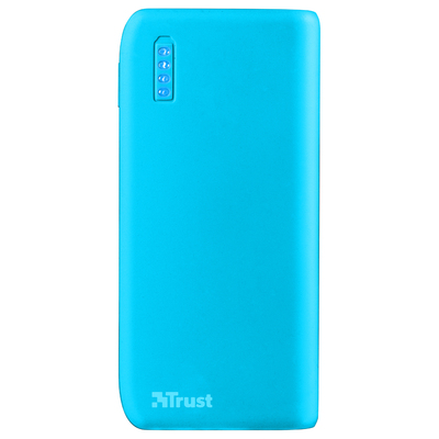TRUST Primo PowerBank 4400 - Neon blue  Default image