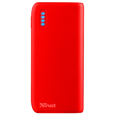 TRUST Primo PowerBank 4400 - Matte red  Default image
