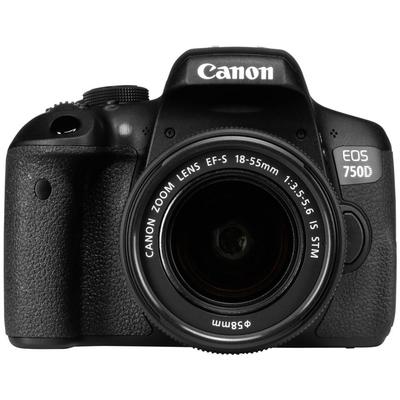 CANON EOS 750D + EF-S 18-55mm IS STM  Default image