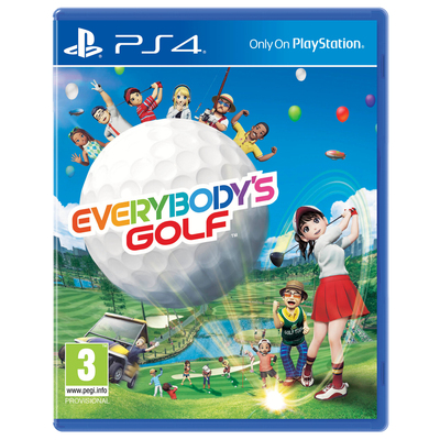 SONY ENTERTAINMENT Everybody's Golf  Default image
