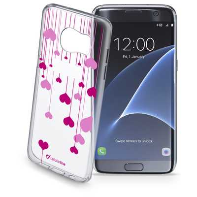 CELLULAR LINE Style Case Heart Galaxy S7 Edge  Default image